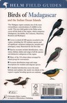 Back Cover: Birds of Madagascar: and the Indian...
