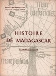 Front Cover: Histoire de Madagascar
