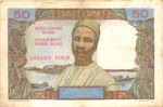 Back: Ariary Folo / 50 Francs