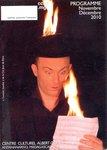 Front Cover: Centre Culturel Albert Camus: Progr...