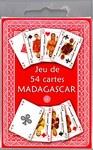 Jeu de 54 cartes Madagascar