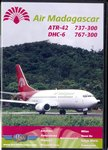 Front of Case: Air Madagascar: ATR-42 / DCH-6 / 73...