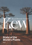 Front Cover: State of the World's Plants 2017