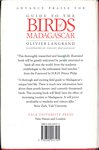 Back Cover: Guide to the Birds of Madagascar