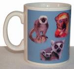 Left: Lemur Mug