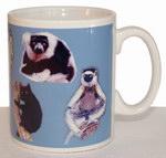 Right: Lemur Mug
