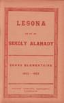Titlepage (Vol 2): Lesona ho an'ny Sekoly Alahady: Cou...