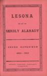 Titlepage (Vol 4): Lesona ho an'ny Sekoly Alahady: Cou...