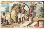 Front: Forge et tissage / Paysage malgache