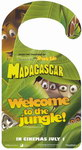 Madagascar Movie Door Sign