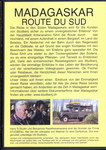 Back of Box: Madagaskar: Route du Sud