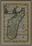 Map: Isle de Madagascar: Dite de St Laur...