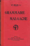 Front Cover: Grammaire Malgache: Augment?e d'une...