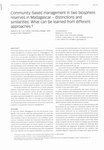 First Page: Community-based Management in two B...