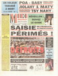Front Cover: Midi Madagasikara: Vendredi 29 déc...