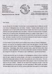 Money for Madagascar Letter