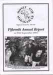 Fifteenth Annual Report to 25th September 2001