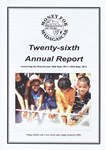 Twenty-sixth Annual Report