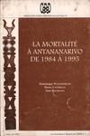 La Mortalit� � Antananarivo de 1984 � 1995