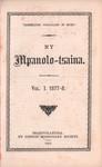 Titlepage: Ny Mpanolo-Tsaina: Vol I: 1877&ndas...