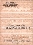 Front Cover: Nahoana no Miara-Monina Isika?