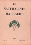 Front Cover: Le Naturaliste Malgache: Tome XII, ...