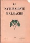 Front Cover: Le Naturaliste Malgache: Tome XIII,...