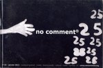 Front Cover: No Comment: #25
