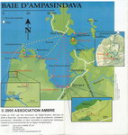 Map: Circuits No. 5, 6 et 7: Baie d'Ampa...