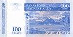 Back: Ariary Zato (500 Francs): Banky Foi...
