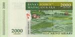 Back: Roa Arivo Ariary (10000 Francs): Ba...