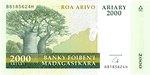 Roa Arivo Ariary (10000 Francs)