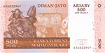 Diman-Jato Ariary (2500 Francs)