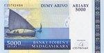 Dimy Arivo Ariary (25000 Francs)