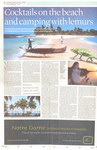 Article First Page: Cocktails on the Beach and Camping ...