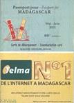 Front Cover: Passeport pour Madagascar: No. 88 M...