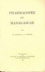 Pharmacop�e de Madagascar