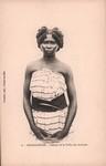 Front: 6. Madagascar. Femme de la Tribu de...