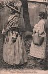 Front: Tamatave - Femme Malgache allant au...