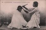 Front: 397. Madagascar - Femme Betsileo se...