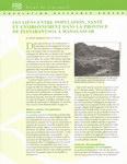 Les Liens entre Population, Sant� et Environnement dans la Province de Fianarantsoa � Madagascar