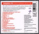 Back of Case: Rakotozafy: Valiha malaza / Famous ...