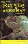 Front Cover: Reptile & Amphibian Magazine: Mar/A...