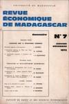 Revue Economique de Madagascar