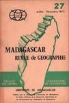 Madagascar Revue de G�ographie