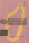 Front Cover: Madagascar Revue de Géographie: No...
