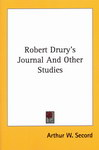 Front Cover: Robert Drury's Journal And Other St...