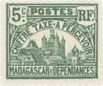 Rova: 5-Centime Postage Stamp