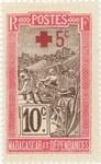 Filanjana: 10+5-Centime Postage Stamp