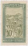 Filanjana: 10-Centime Postage Stamp